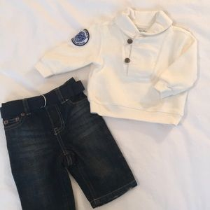 3M Ralph Lauren sweater and jeans